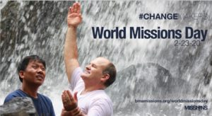 WORLD MISSIONS DAY 2020