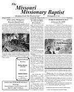 January Missouri Missionary Baptist