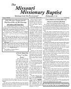 April Missouri Missionary Baptist Paper