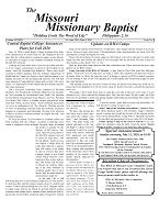 June 2020 Missouri Missionary Baptist Paper