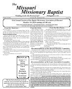 September 2020 Missouri Missionary Baptist Paper