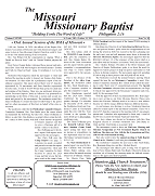 October 2020 Issue - Missouri Missionary Baptist