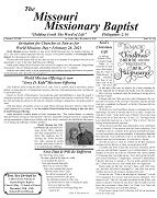 Missouri Missionary Baptist Paper - December 2020