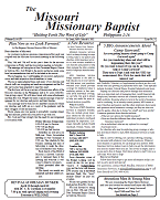 March 2021 - Missouri Missonary Baptist Paper