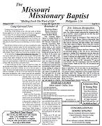 April 2021 - Missouri Missonary Baptist Paper
